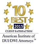 Top 10 Lawyers for Client Satisfaction Award
