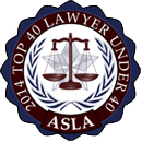 Arizona Top 40 Lawyers Under 40 Years Old by ASLA
