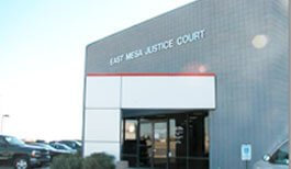 East Mesa Justice Court