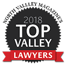 North Magazine Top Valley Lawyers 2018